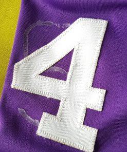 Glue Marks on Right Shoulder Number