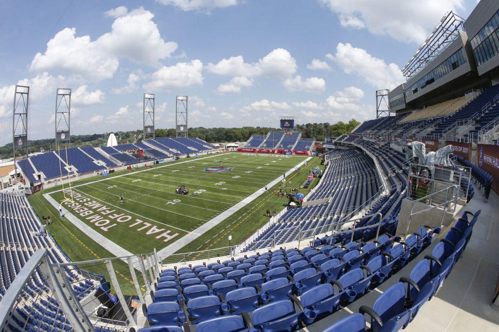 Tom Benson Hall of fame Stadium- Home of the Legends, Canton, Ohio